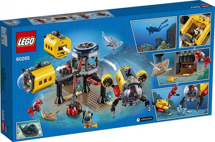 LEGO CITY  BAZA DE EXPLORARE A OCEANULUI 60265 [8]