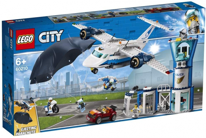 LEGO CITY BAZA POLITIEI AERIENE 60210 [0]