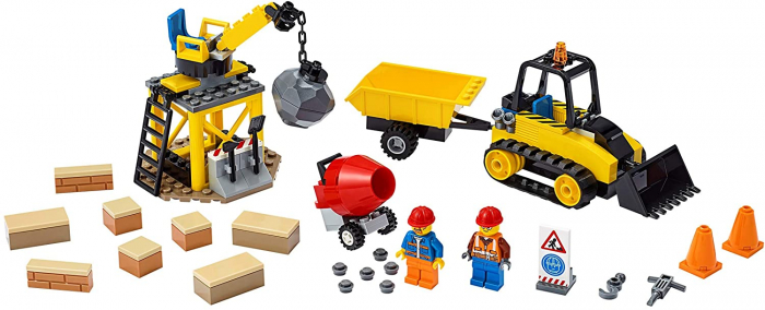 LEGO CITY BULDOZER PENTRU CONSTRUCTII 60252 [5]