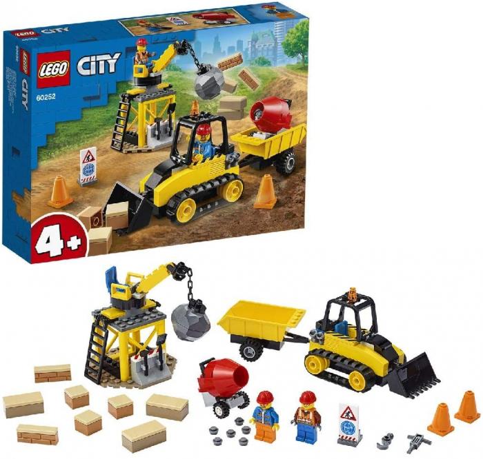 LEGO CITY BULDOZER PENTRU CONSTRUCTII 60252 [6]