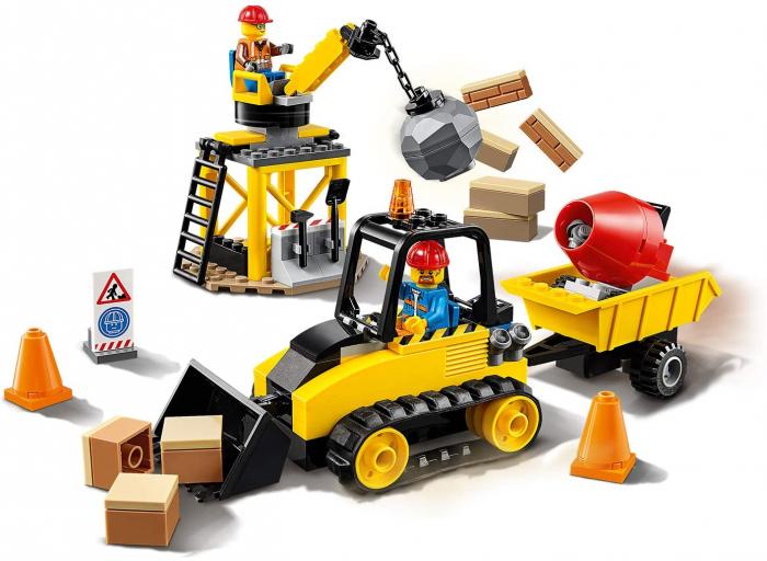LEGO CITY BULDOZER PENTRU CONSTRUCTII 60252 [1]