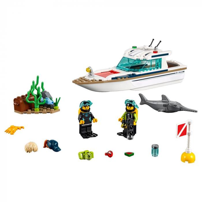 LEGO CITY IAHT PENTRU SCUFUNDARI 60221 [1]