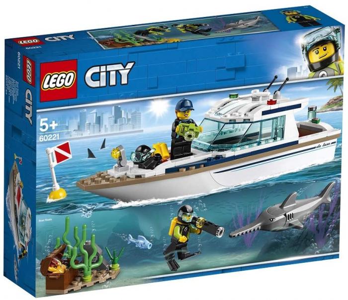 LEGO CITY IAHT PENTRU SCUFUNDARI 60221 [0]