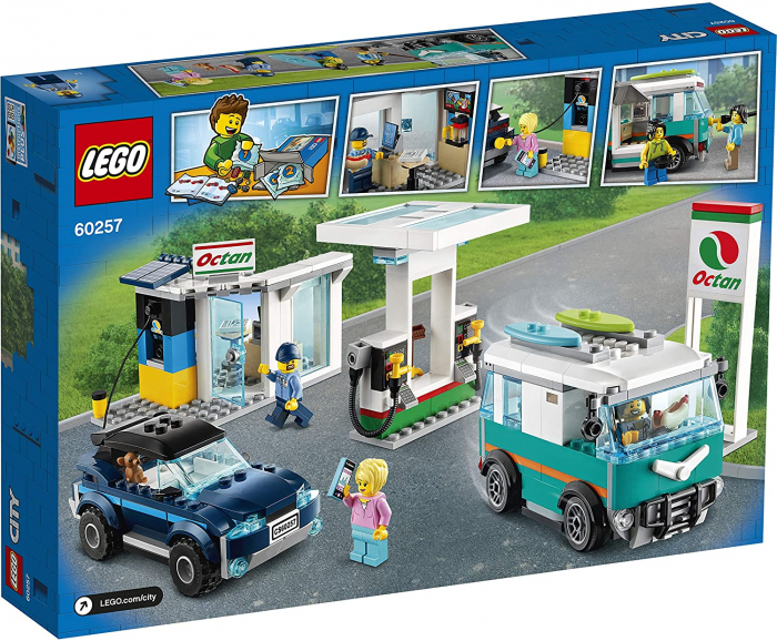 LEGO CITY STATIE DE SERVICE 60257 [8]
