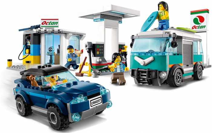 LEGO CITY STATIE DE SERVICE 60257 [1]