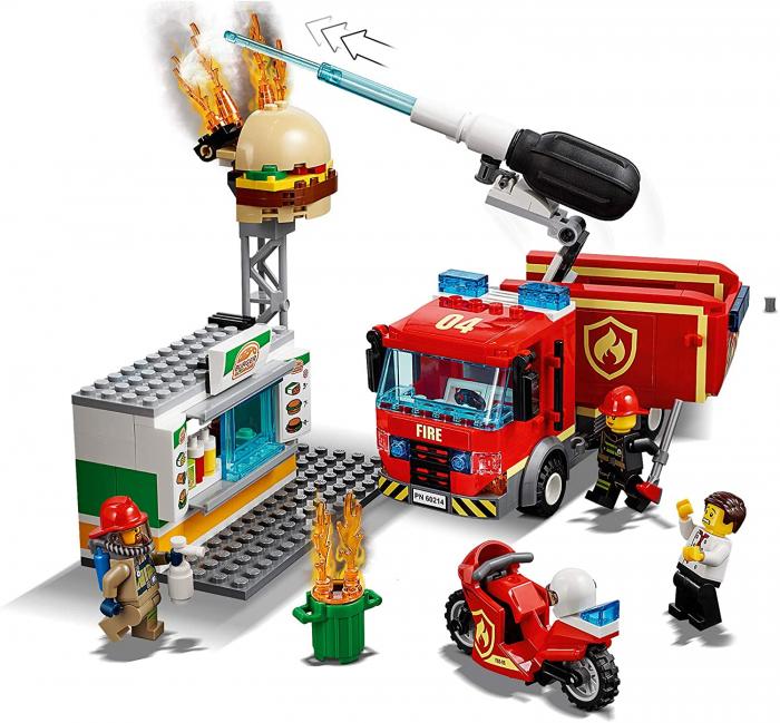 LEGO CITY STINGEREA INCENDIUL DE LA BURGER BAR 60214 [1]