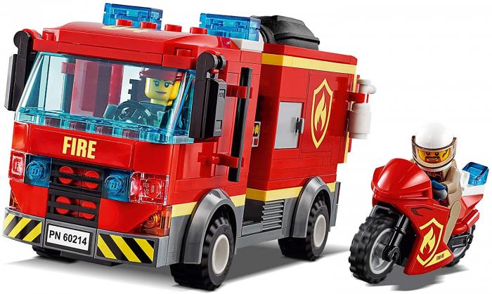 LEGO CITY STINGEREA INCENDIUL DE LA BURGER BAR 60214 [4]