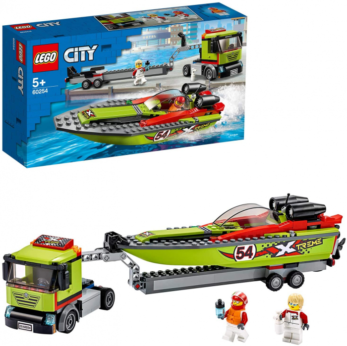 LEGO CITY TRANSPORTOR DE BARCA DE CURSE 60254 [3]