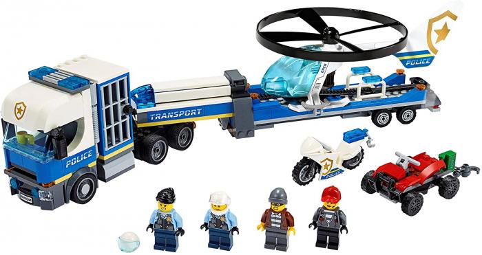LEGO CITY TRANSPORTUL ELICOPTERULUI DE POLITIE 60244 [6]