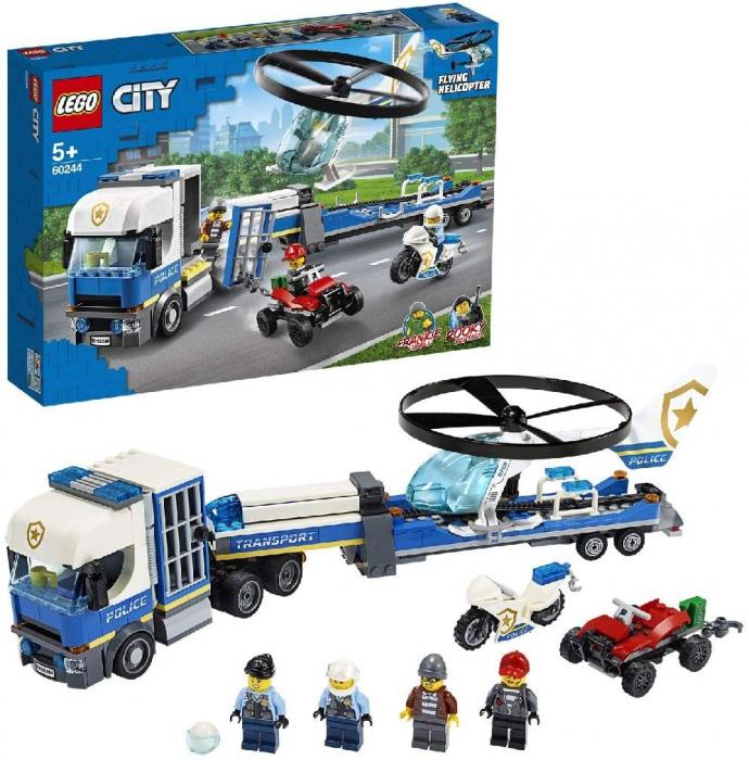 LEGO CITY TRANSPORTUL ELICOPTERULUI DE POLITIE 60244 [3]