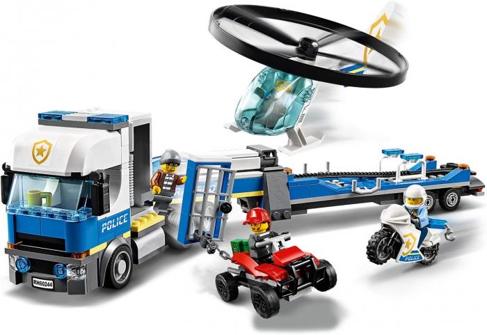 LEGO CITY TRANSPORTUL ELICOPTERULUI DE POLITIE 60244 [1]