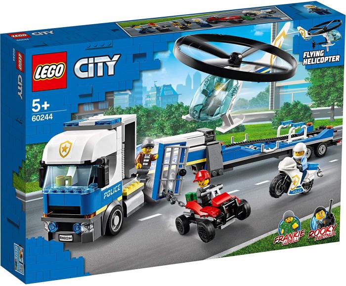 LEGO CITY TRANSPORTUL ELICOPTERULUI DE POLITIE 60244 [0]