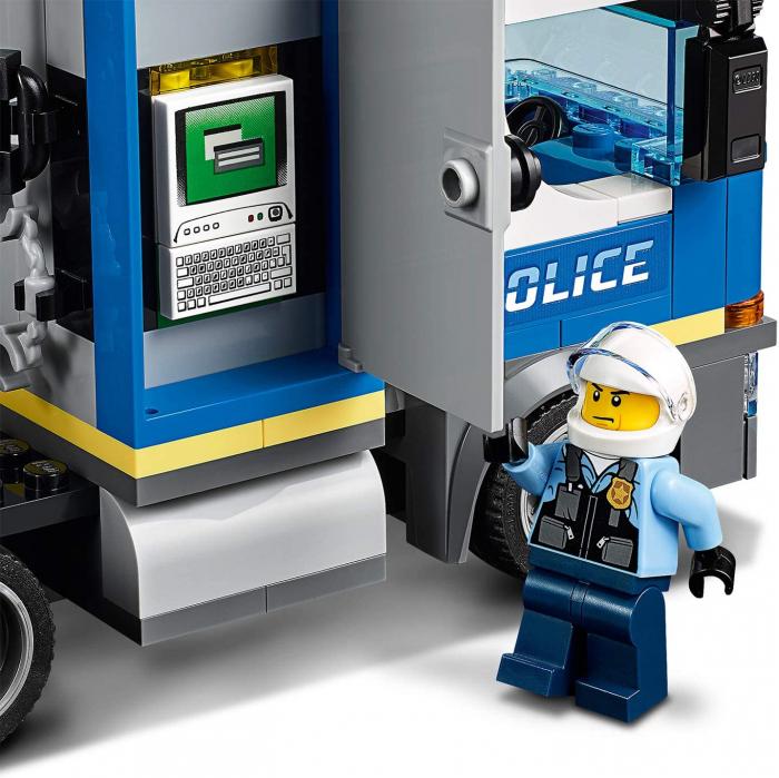 LEGO CITY TRANSPORTUL ELICOPTERULUI DE POLITIE 60244 [5]