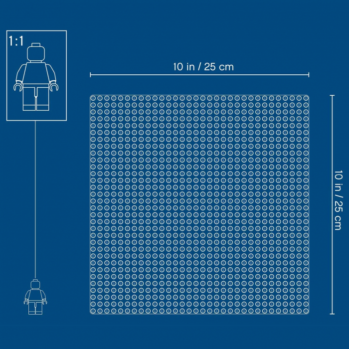 LEGO CLASSIC PLACA DE BAZA ALBA 11010 [5]