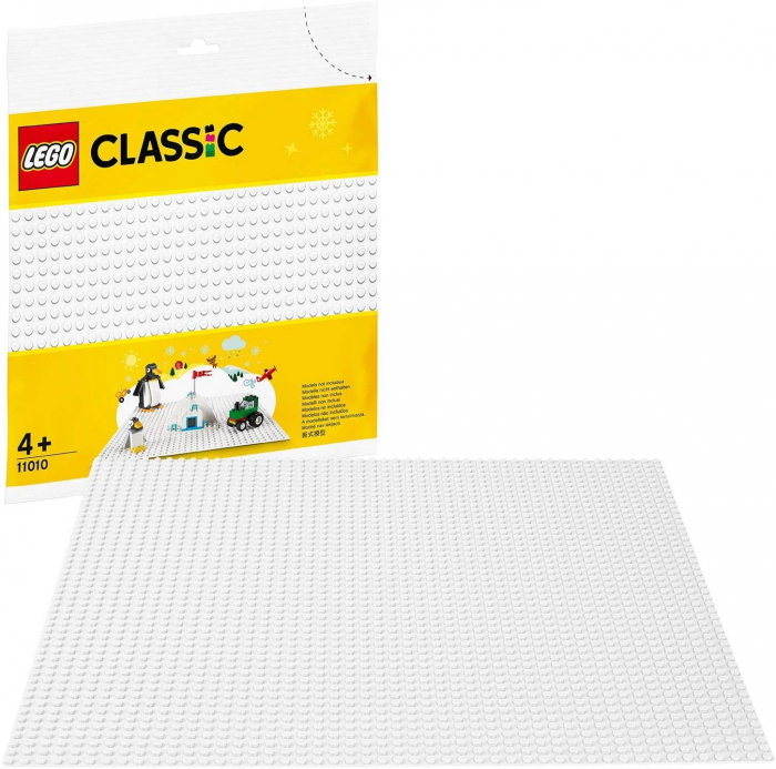 LEGO CLASSIC PLACA DE BAZA ALBA 11010 [0]