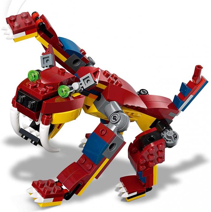 LEGO CREATOR DRAGON DE FOC 31102 [1]