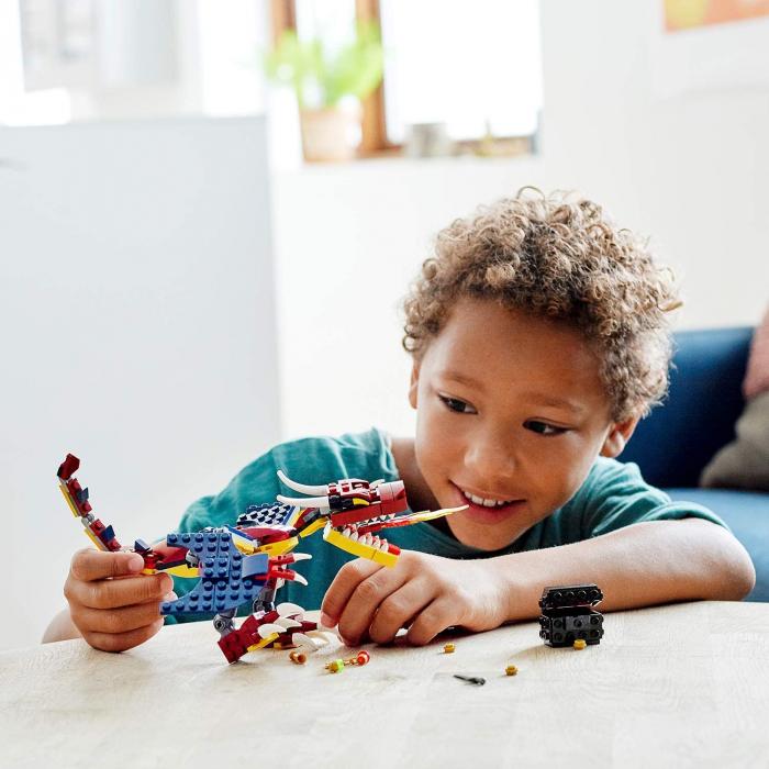 LEGO CREATOR DRAGON DE FOC 31102 [2]