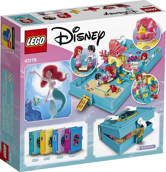 LEGO  DISNEY AVENTURI DIN CARTEA DE POVESTI CU ARIEL 43176 [5]