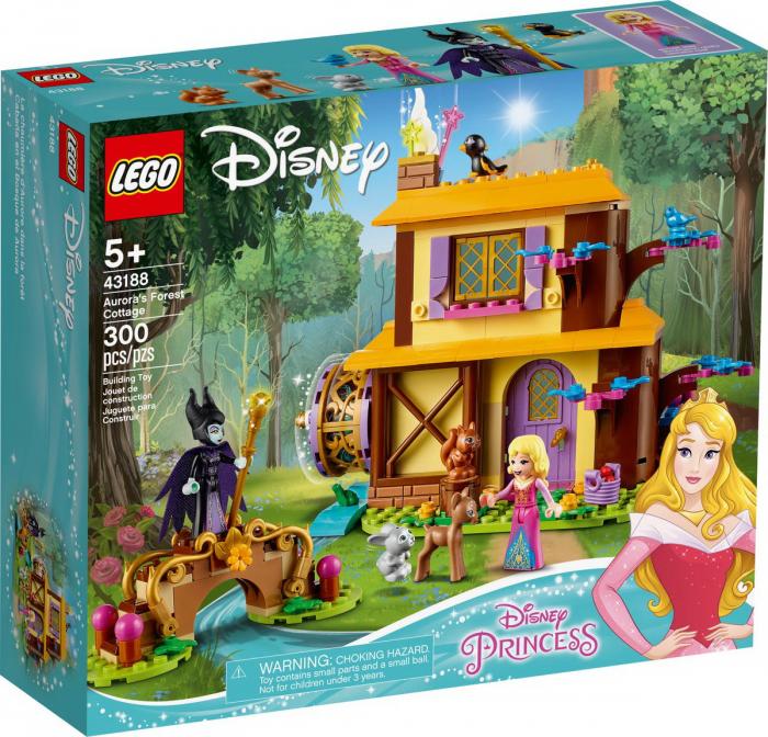 LEGO DISNEY PRINCESS  AURORA FOREST COTTAGE 43188 [0]