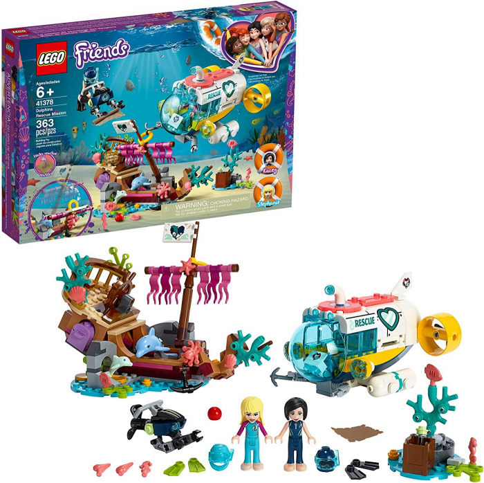 LEGO FRIENDS MISIUNEA DE SALVARE A DELFINILOR 41378 [4]
