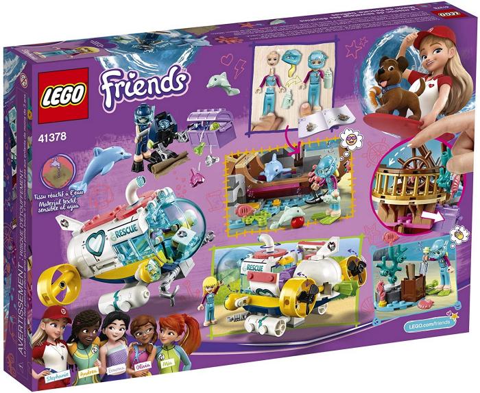 LEGO FRIENDS MISIUNEA DE SALVARE A DELFINILOR 41378 [6]