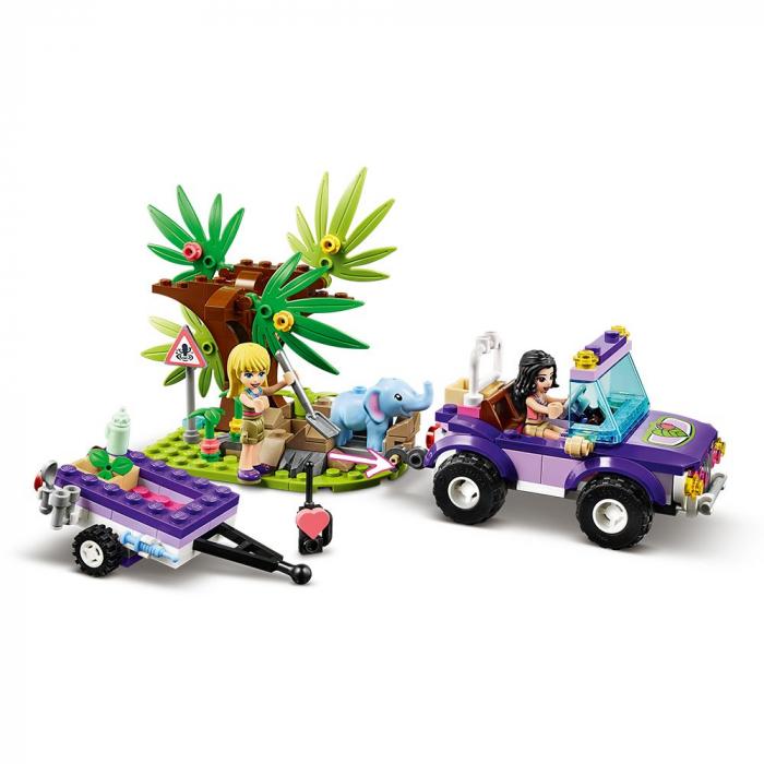 LEGO FRIENDS  SALVAREA PUIULUI DE ELEFANT DIN JUNGLA 41421 [3]