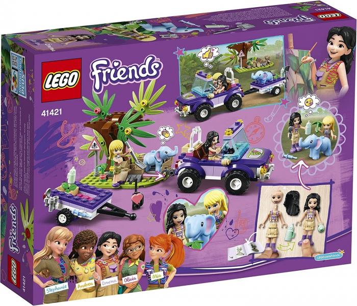 LEGO FRIENDS  SALVAREA PUIULUI DE ELEFANT DIN JUNGLA 41421 [5]