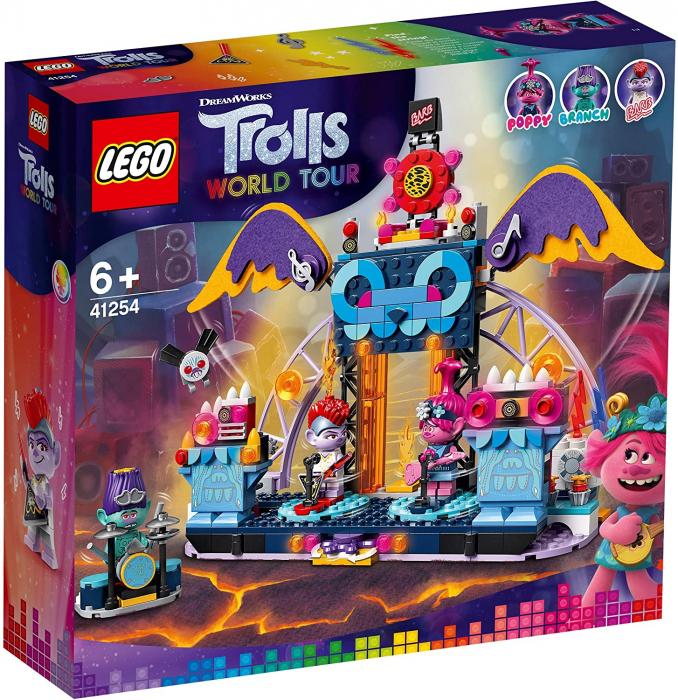 LEGO TROLLS WORLD TOUR CONCERTUL DIN ORAȘUL VOLCANO ROCK [0]