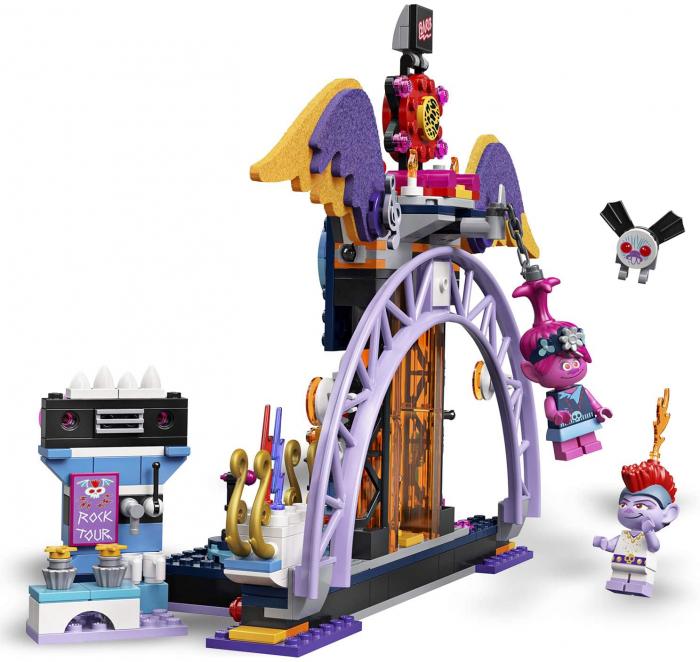 LEGO TROLLS WORLD TOUR CONCERTUL DIN ORAȘUL VOLCANO ROCK [4]