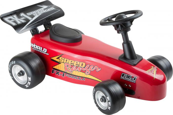 Masinuta Formula 1 / Red Push-Along Racing Car - Legler 0