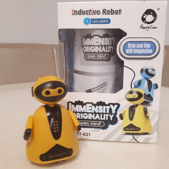 Cadou 5-7 ANI - Robotel Smart Inductiv + Set Cuburi Rubik 3