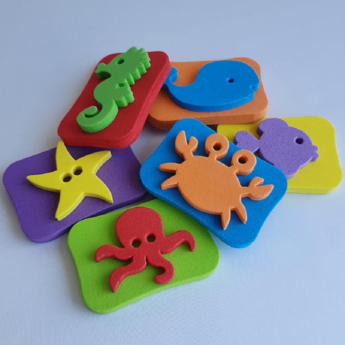 Set creativ cu stampile - Ocean 1