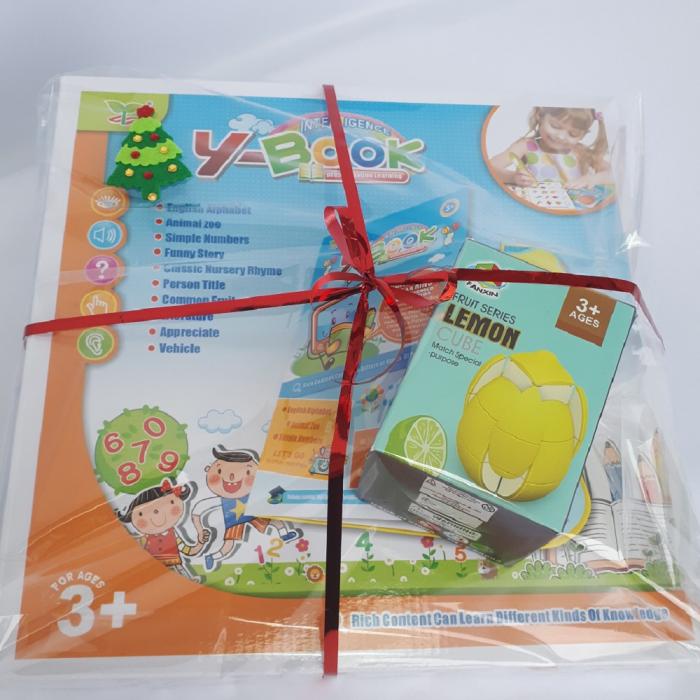 Cadou 5-7 ANI - Invatare Limba Engleza + Cub Rubik Lamaie 1