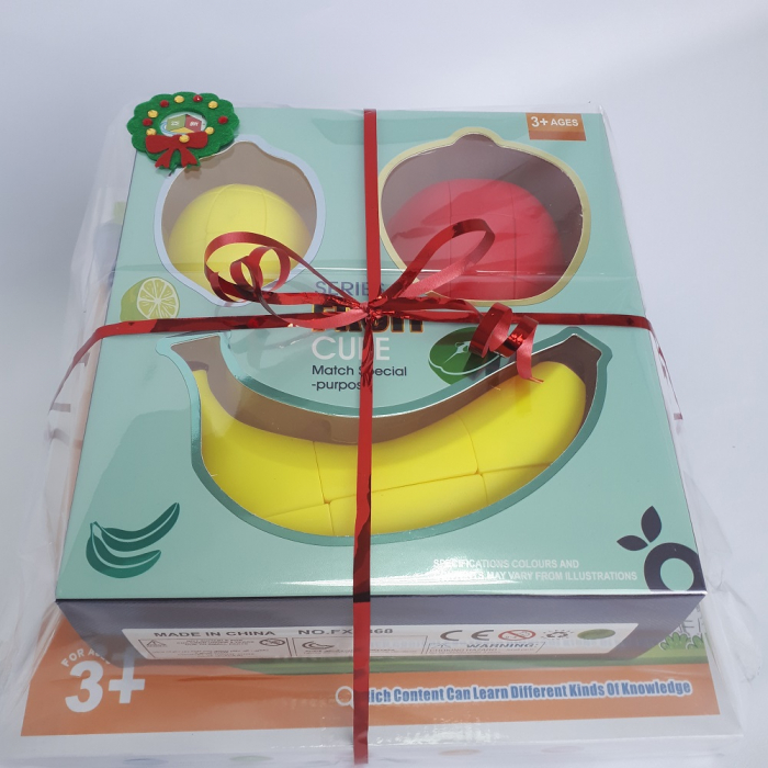 Cadou 5-7 ANI - Invatare Limba Engleza + Set Cuburi Rubik Fructe 1
