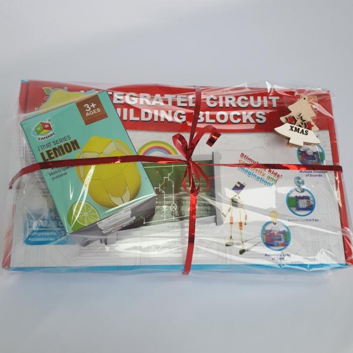 Cadou 8-14 ANI - Constructie Circuite Integrate + Cub Rubik Lamaie 1