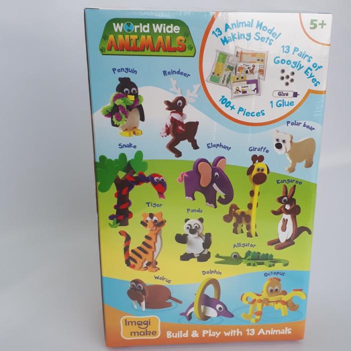 Puzzle 3D Animale 1