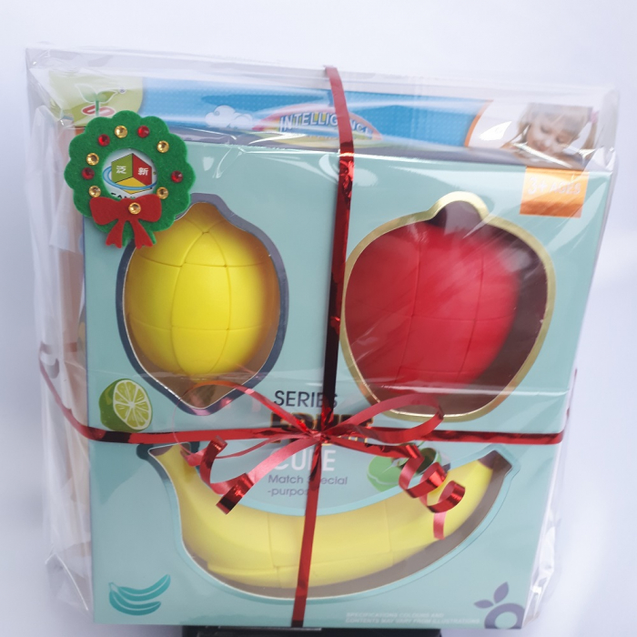 Cadou 5-7 ANI - Invatare Limba Engleza + Set Cuburi Rubik Fructe 2