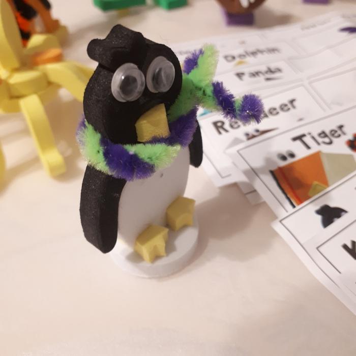 Puzzle 3D Animale 7