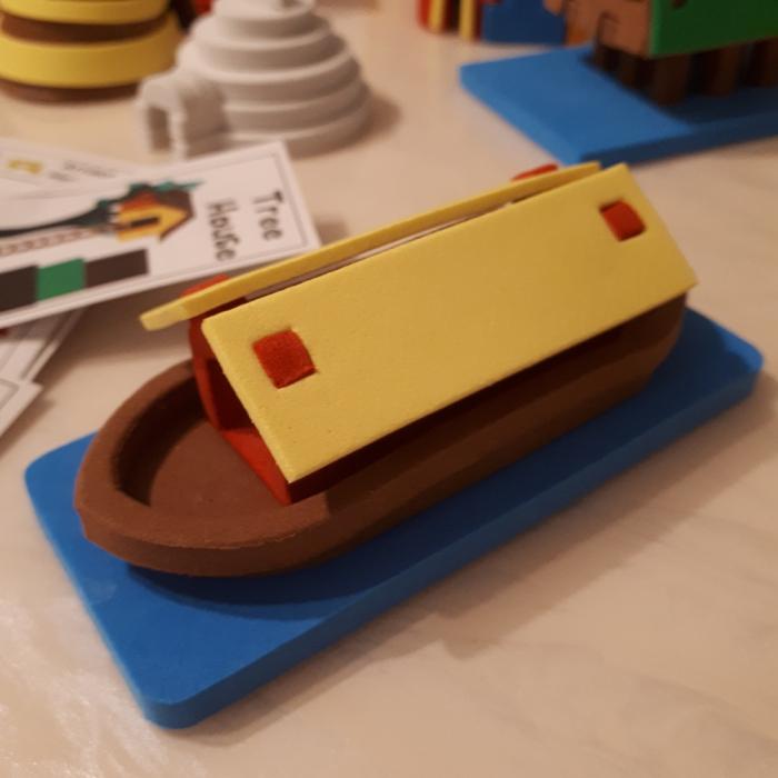 Puzzle 3D Case 4