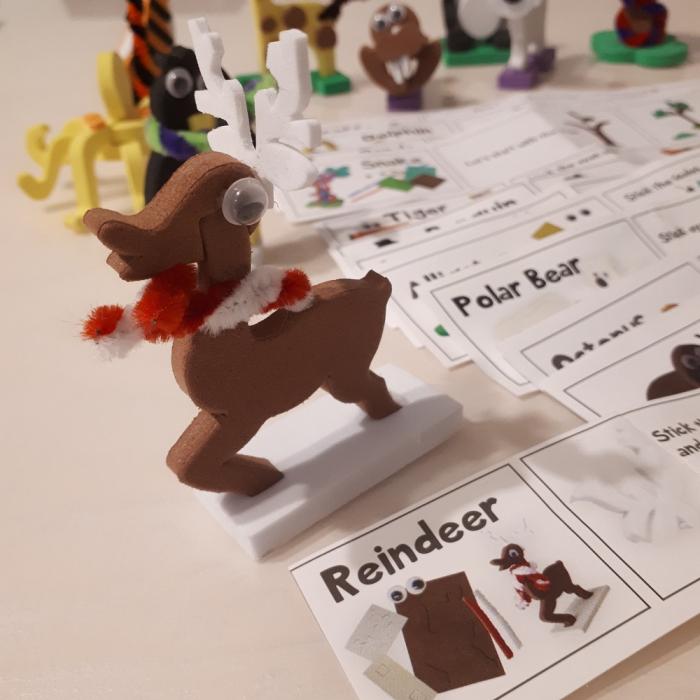 Puzzle 3D Animale 4