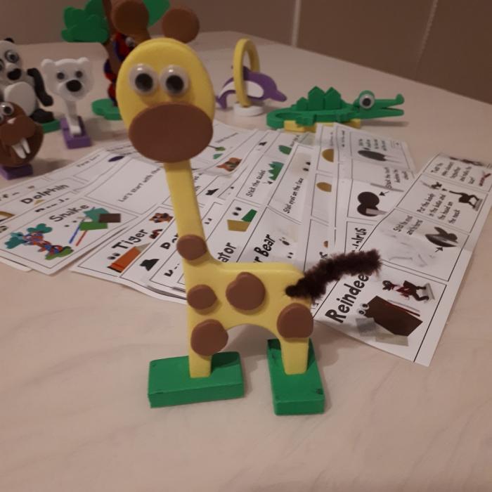 Puzzle 3D Animale 3