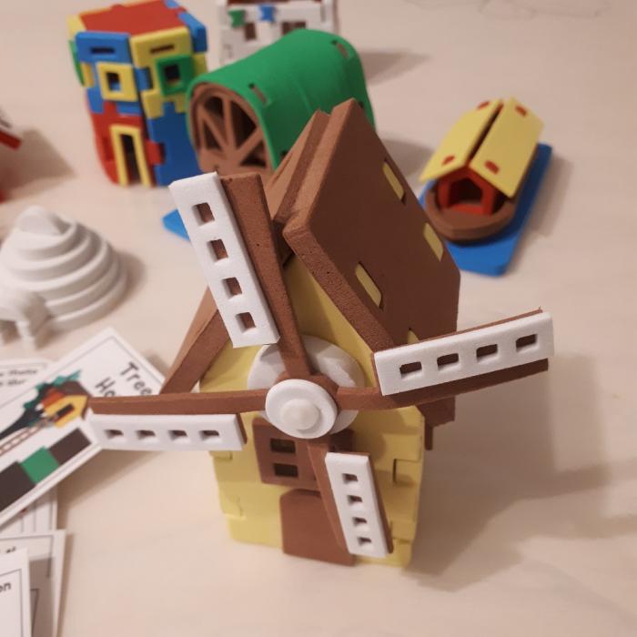 Puzzle 3D Case 1