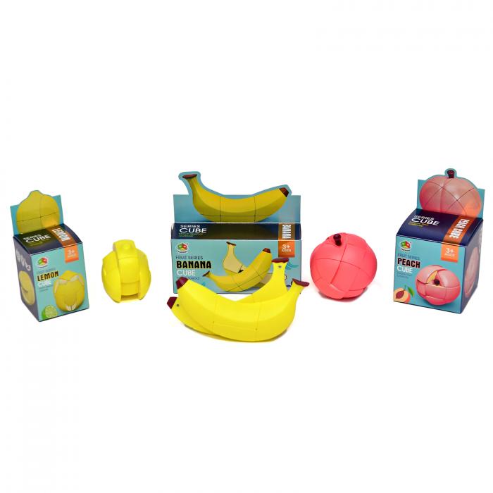 Pachet Cuburi Rubik - Piersica, Lamaie si Banana [2]