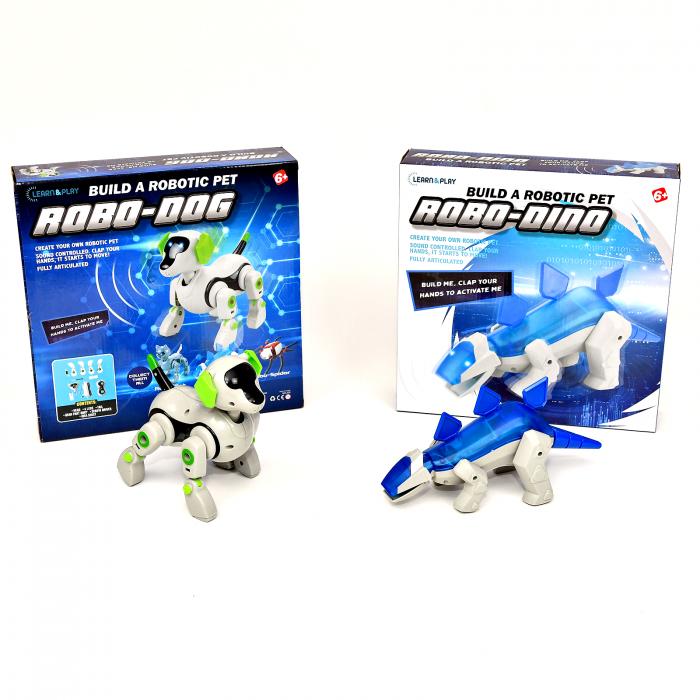 Pachet Roboti Electromecanici - Catel si Dinozaur [1]
