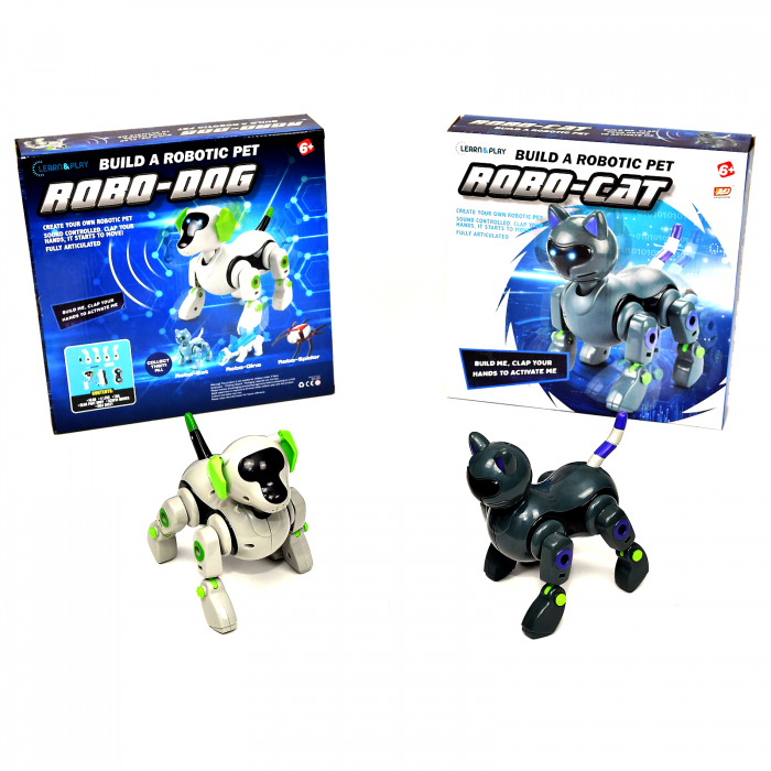 Pachet Roboti Electromecanici - Catel si Pisica [1]