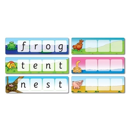 Potriveste si formeaza cuvinte / MATCH AND SPELL 4