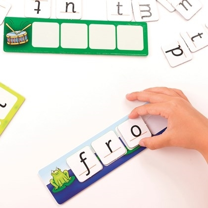 Potriveste si formeaza cuvinte / MATCH AND SPELL 5