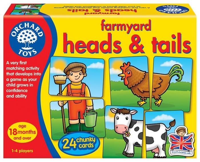 Prietenii de la ferma / FARMYARD HEADS & TAILS 0
