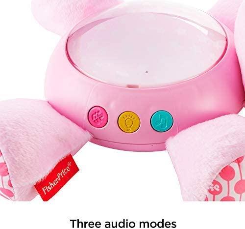 Proiector Hipopotam roz Fisher Price [5]