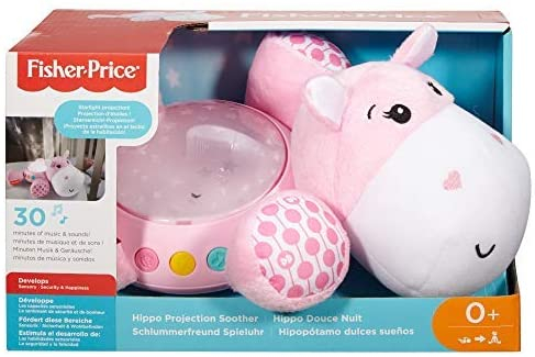 Proiector Hipopotam roz Fisher Price [0]